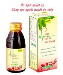 Đại bổ khí huyết PQA hỗ trợ điều trị bệnh huyết áp thấp