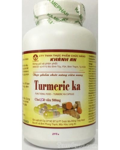 Viên tinh chất nghệ Turmeric ka - 250v