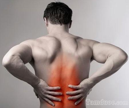 cách chữa đau lưng dưới, đau thắt lưng